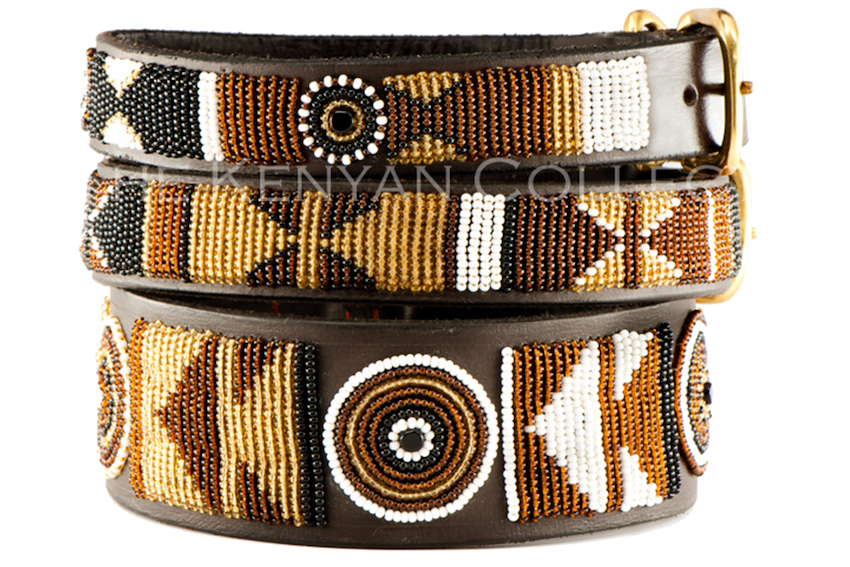 EARTH Massai Hundehalsband