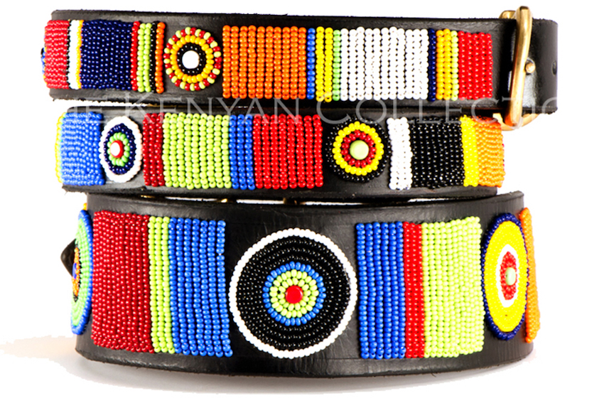 CIRCLE OF LIFE Massai Hundehalsband