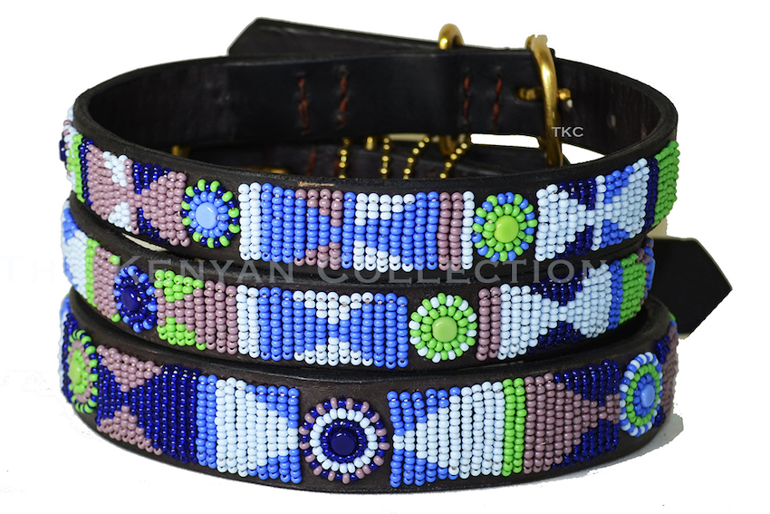 PASSION FLOWER Massai Hundehalsband